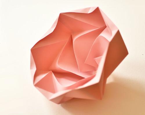 Origami Snowflake Lampshade