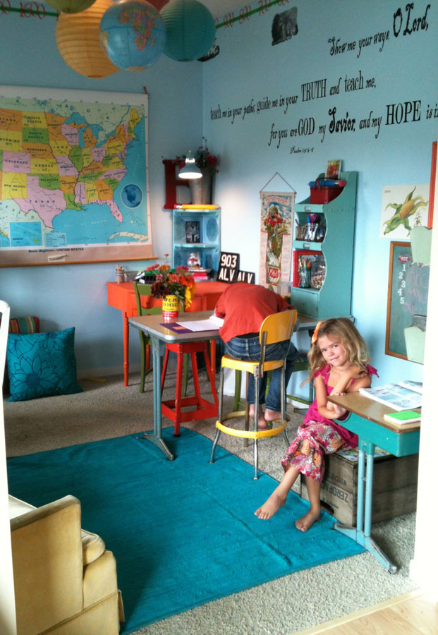 Colorful school room | Back to School: Coolest Learning Spaces
