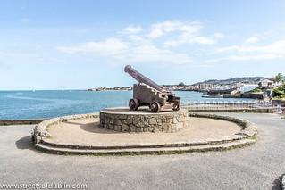 Kuva Crimean War cannon. ireland dublin europe sony dunlaoghaire dublinstreets streetsofdublin infomatique nex7