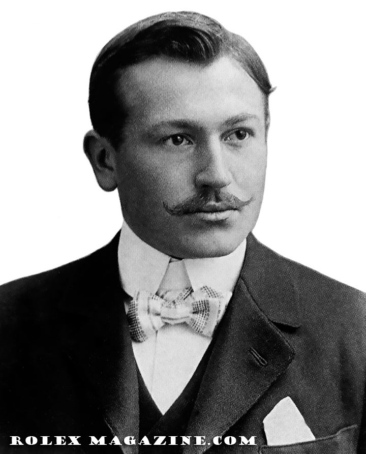 Hans Wilsdorf_Founder of Rolex