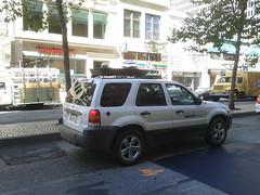 automobile(1.0), automotive exterior(1.0), sport utility vehicle(1.0), mini sport utility vehicle(1.0), vehicle(1.0), compact sport utility vehicle(1.0), crossover suv(1.0), ford escape(1.0), bumper(1.0),