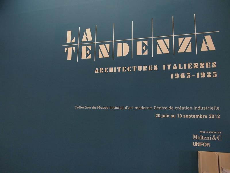 La Tendeza - Architectures Italiennes (1965-1983)