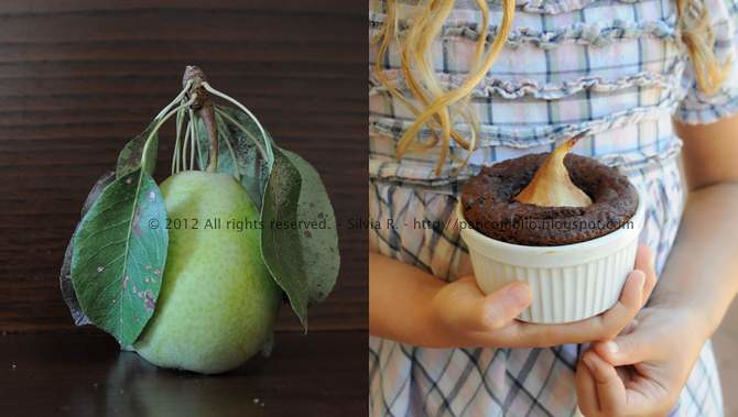 tortini con cacao e pere1