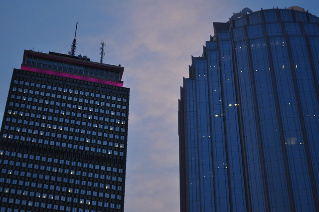 Lit up the Pru for FNO