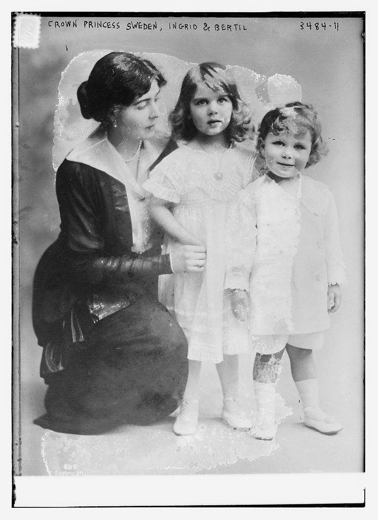 Crown Princess [of] Sweden, Ingrid & Bertil  (LOC)