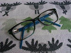 あたらしいメガネ。