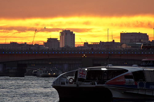 Thames Sunset I by manchego_photo