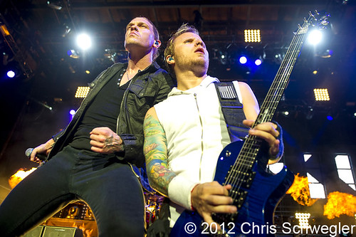 Shinedown - 09-07-12 - Rockstar Energy Drink Uproar Festival, DTE Energy Music Theatre, Clarkston, MI