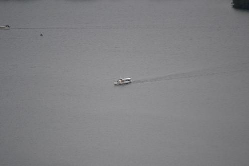 denmark view danmark 2012 udsigt himmelbjerget båd julsø