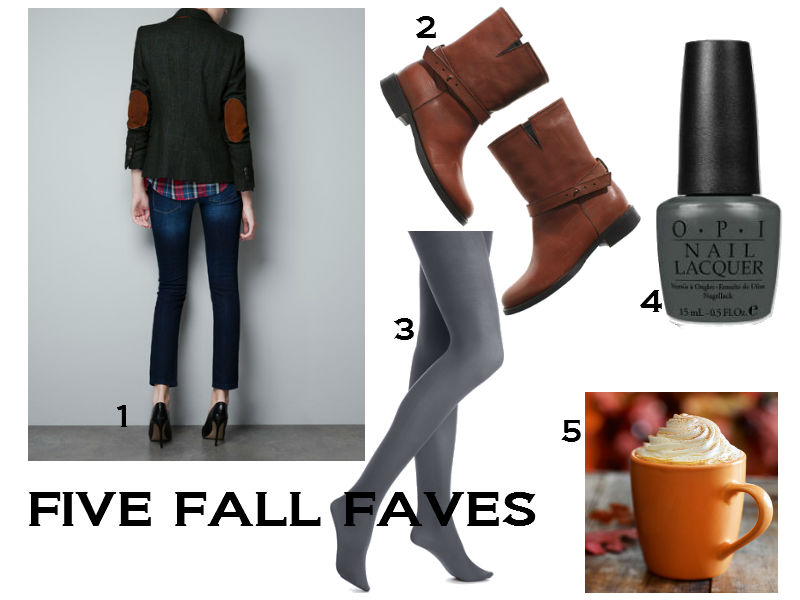 Five Fall Faves