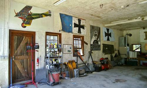 Old Rhinebeck Aerodrome- Flugzeugwerke Hanger