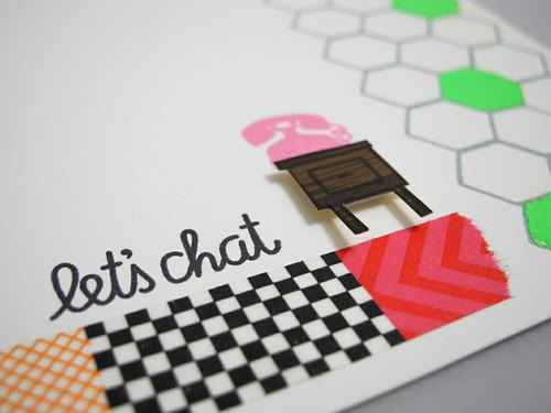 Let's Chat (detail)