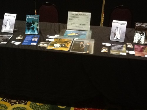 Artist Alley Table, Geek.kon 2012