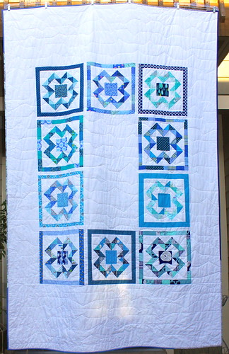 X Marks the Spot Quilt: Front