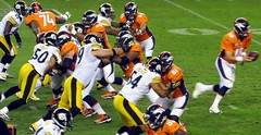 Manning Handoff, Broncos vs Steelers 2012