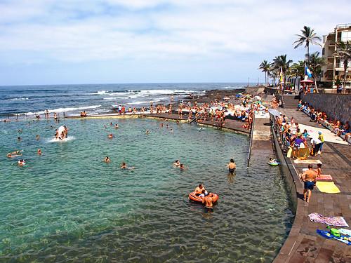Sea pool at Punta de Hidalgo, Tenerife