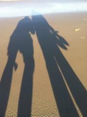 2 shadows & sand patterns South Golden Beach 6Sep2012