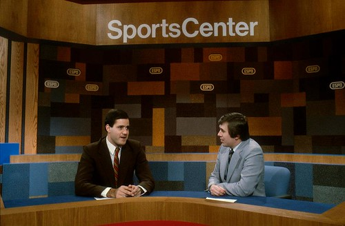 SportsCenter In 1980 With Chris Berman and Bob Ley