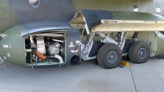 Fahrwerksverkleidung Transall C-160D