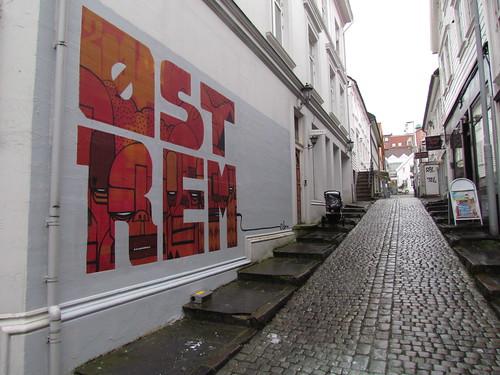 Atle Østrem: Public mural