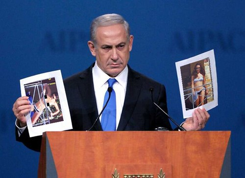 BIBI DISPLAYING THE EVIDENCE by Colonel Flick