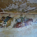 Plantagenet World 2011 Eleanor of Aquitaine fresco, 12th c, Chinon --