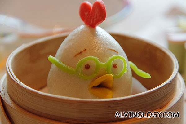 Chicken Little Steamed Lotus Seed Puree Bun