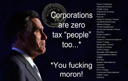 CORPORATIONS ARE... (Cayman Version) by Colonel Flick