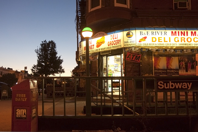 Park Slope mini mart