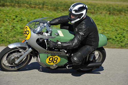 Benelli 1969 Oldtimer Grand Prix 2012 Schwanenstadt Austria Copyright B. Egger :: eu-moto images 1379