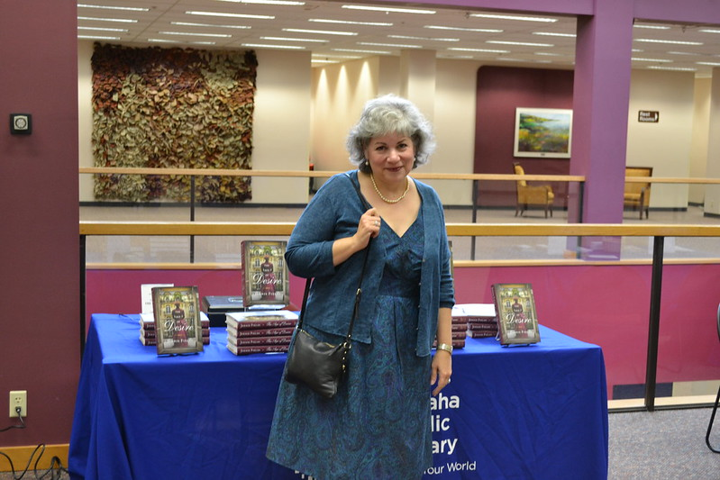 Author Jennie Fields at Omaha Public Library