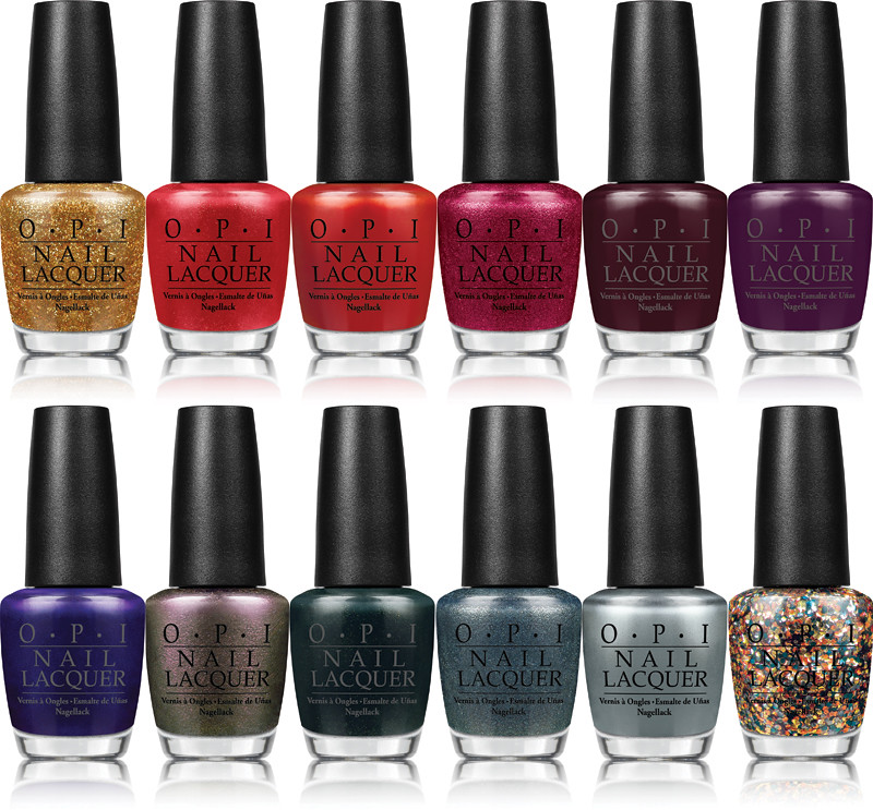 opi skyfall polishes