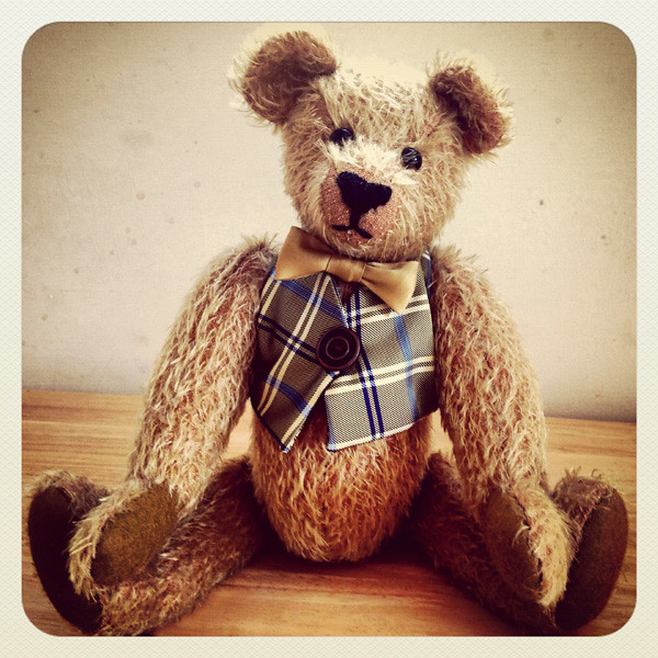 Traditional Handsewn Teddy Bear