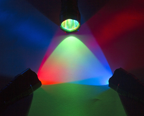 RGB flashlights