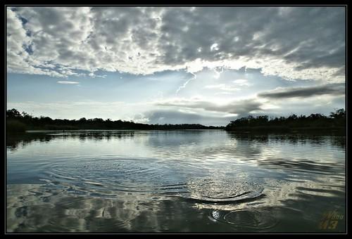 morning blue nature clouds texas bayou ripples pasadena canoeing paddling relfection armandbayou horsepenbayou wanam3