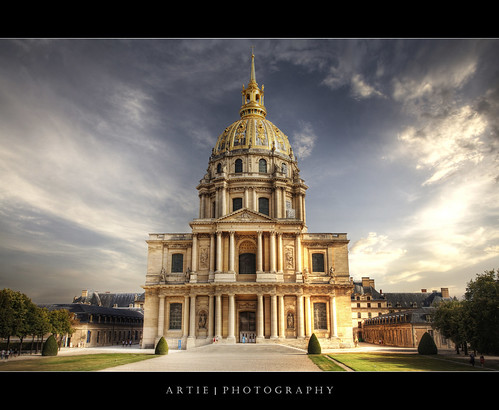 Chapel of Saint Louis des Invalides, Paris, France :: HDR