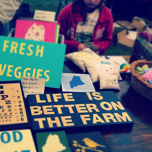 life is better on the farm #commongroundfair #cgcf2012 #youthenterprisezone #instalater
