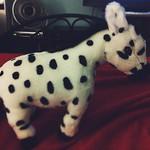 My fella gave me a spotted zebra. He's da best (my fella; Zink is pretty cool, too).