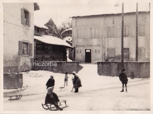 1930 parties de luge