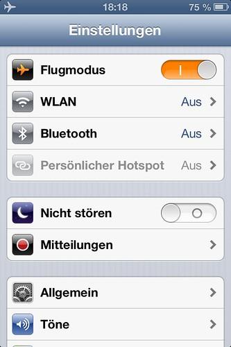 iOS 6: Bluetooth-Einstellungen leichter erreichbar by thosch66