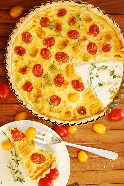 Egg and Cheese Breakfast Tart