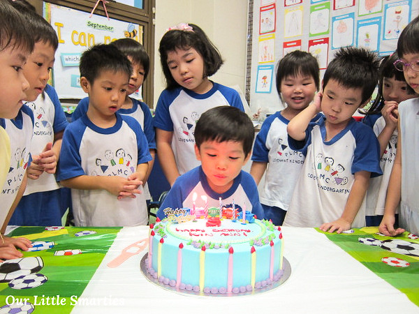 Edison Blowing Candles