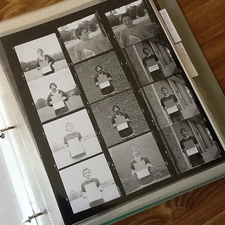 Contact sheet. #ilford #xp2 #chromogenic #film #rccphoto