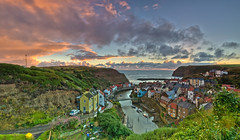 Staithes Panoramic.
