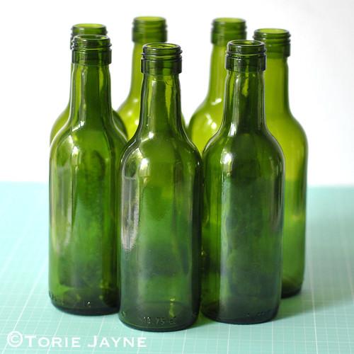 arrange bottles