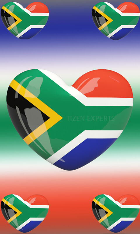 Wallpapers: Special Samsung Z2 South Africa Themed