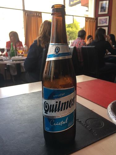Puerto Madryn: une autre bière argentine testée. Pas mal ! ;)