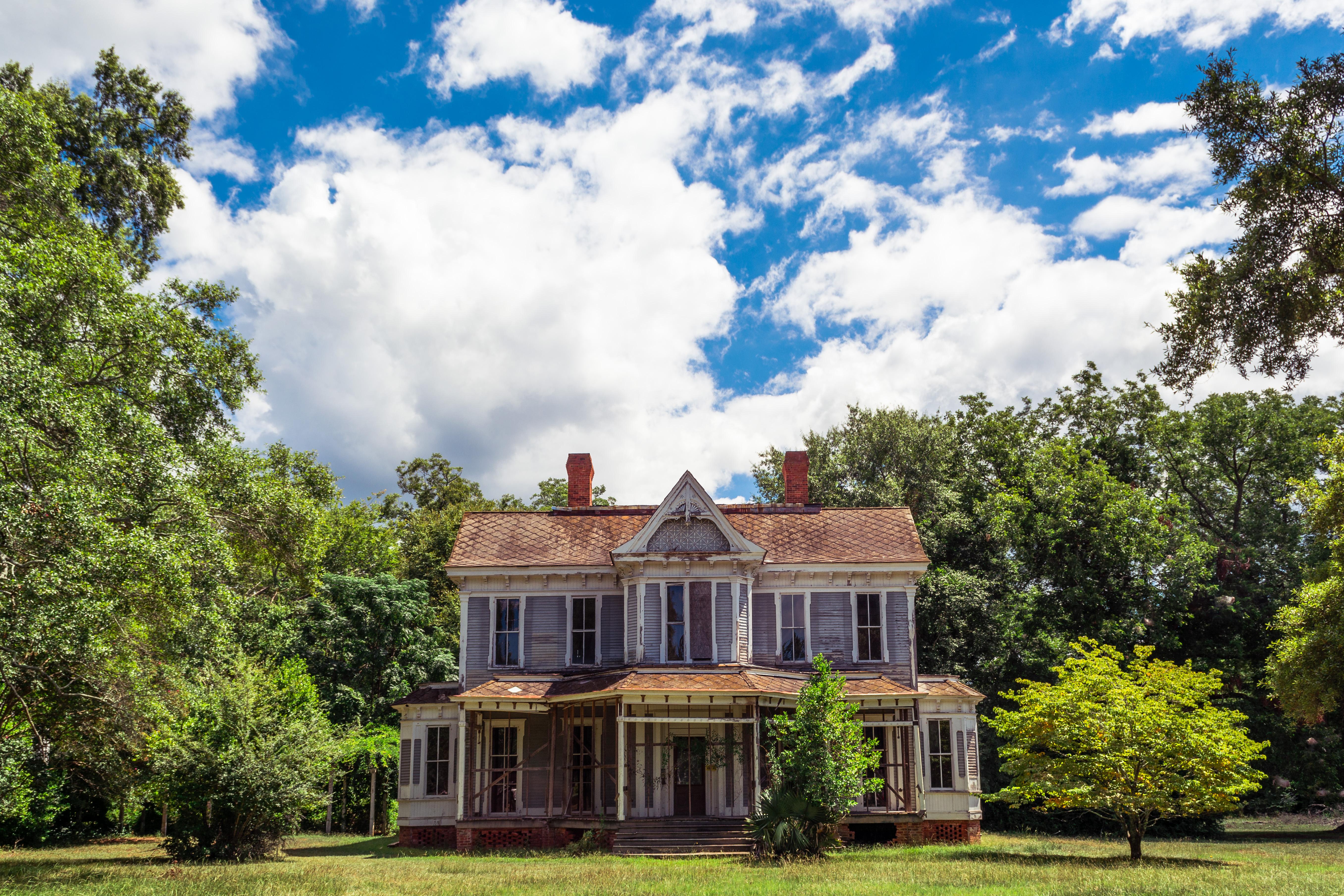 Dilapidated Victorian