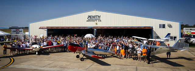 Zenith Aircraft Open Hangar Day 2016