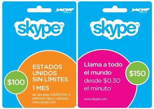 Skype Cards mexico
